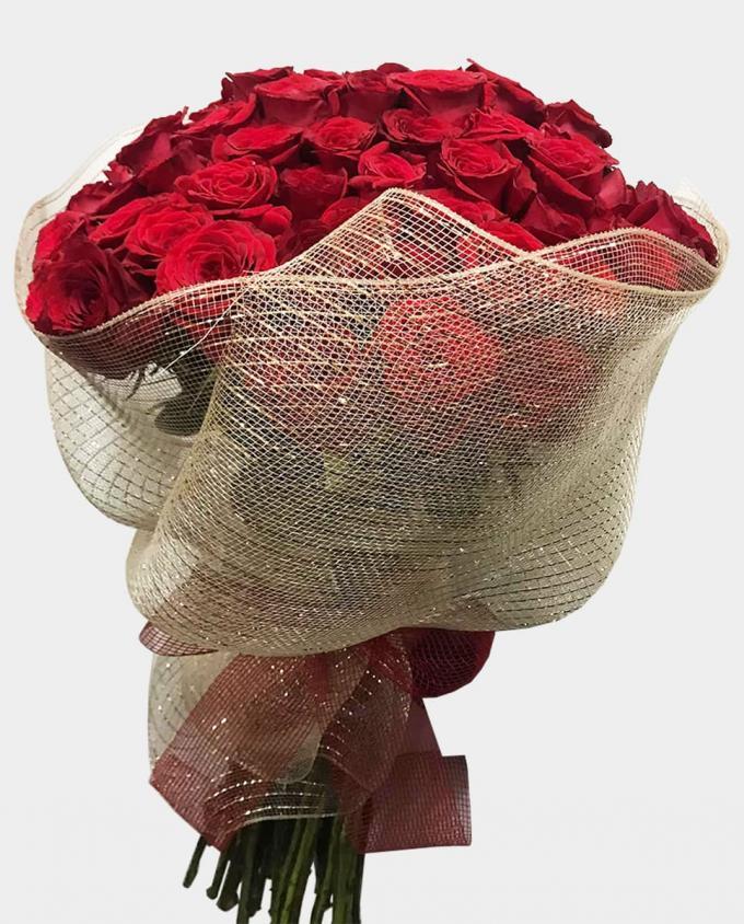 50 Rosas - Florería Miranda