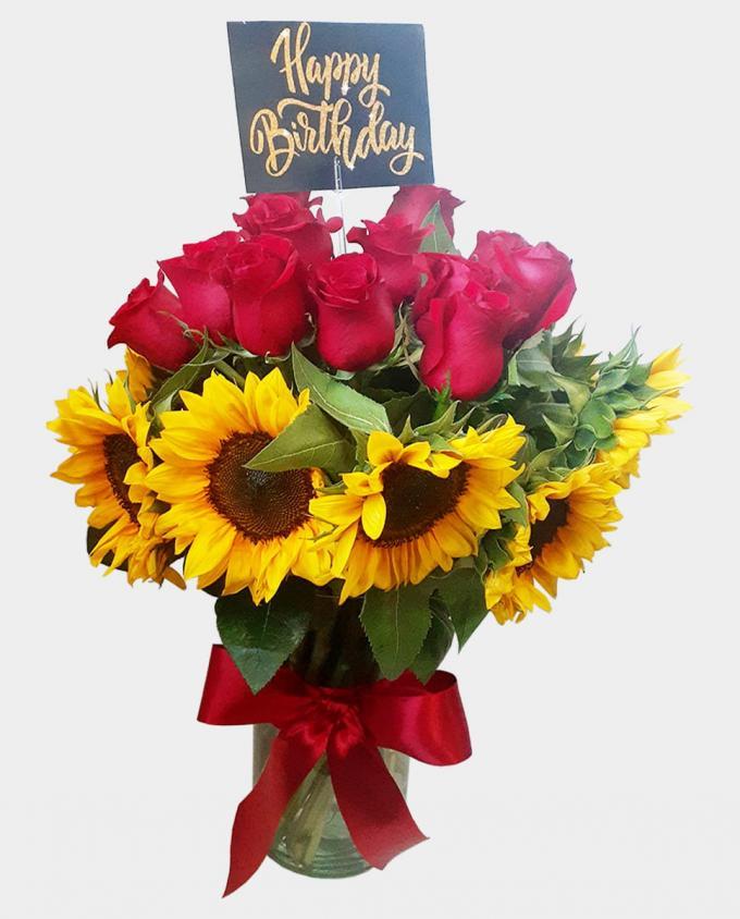 Happy Birthday - Florería Miranda